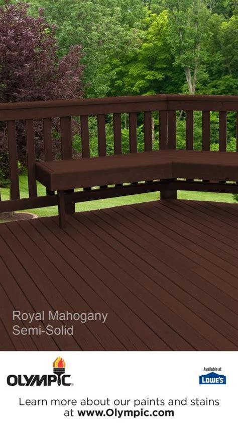 royal mahogany   semi transparent semi solid