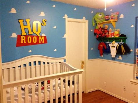 Pixar Baby Nursery  Colorful And Fun Baby Rooms
