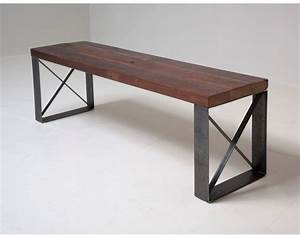 sleek modern industrial reclaimed bench coffee table With sleek modern coffee table