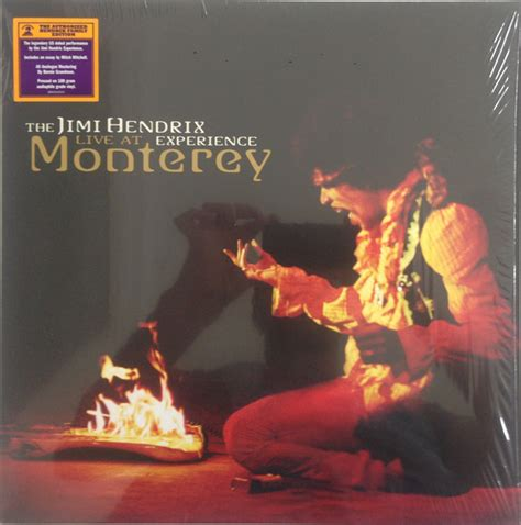 Jimi Killing Floor Live Monterey by The Jimi Experience Live At Monterey Vinyl Lp