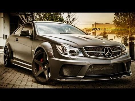 mercedes benz  amg coupe start  exhaust full