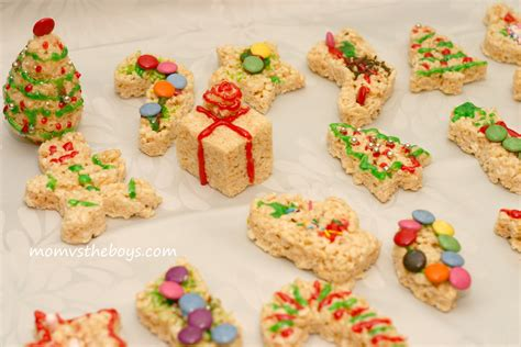 treats for holiday rice krispie treats