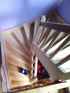 Escalier 3 4 Tournant : escalier quart tournant ~ Dailycaller-alerts.com Idées de Décoration