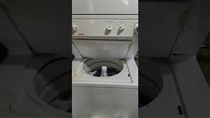 Kenmore Stack Washer - Broken Belt