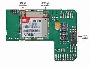 Geolocation Tracker  Gprs   Gps  With Sim908 Over Arduino