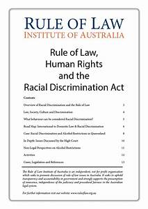 Human Rights and the Rule of Law - Rule of Law Institute ...