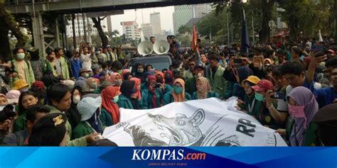 berita harian demo mahasiswa hari  terbaru hari  kompascom