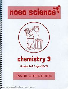 Noeo Chemistry 3 - Instructor U0026 39 S Guide