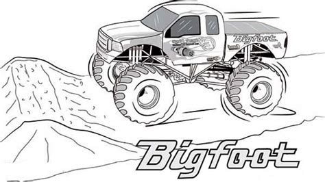 monster trucks coloring pages 20 free printable monster truck coloring pages
