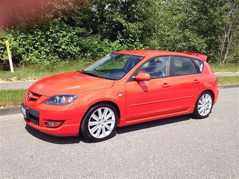 Buy Used 2007 Mazda 3 Mazdaspeed Hatchback 4-door 2.3l In
