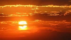 Full HD Wallpaper sunset sky cloud above sun amazing ...