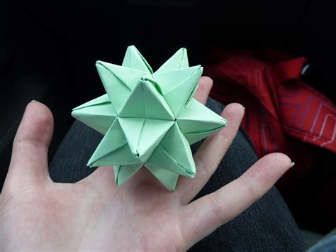 how to make 3d star and balls modular origami weresloth