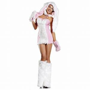 Bunny Costume Adult Sexy Rabbit Halloween Fancy Dress | eBay