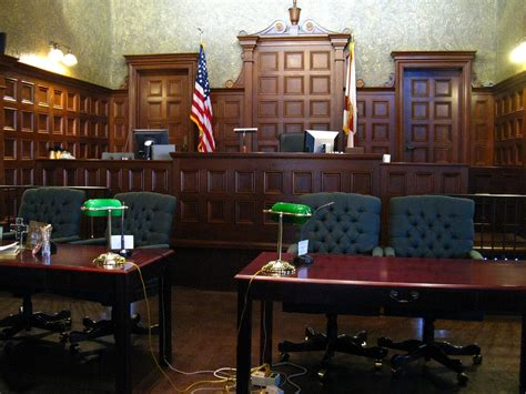 Courtroom  Courtroom In The Old Historic Courthouse