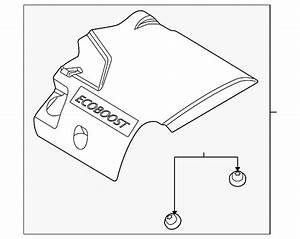 Genuine Ford Engine Cover Aa5z