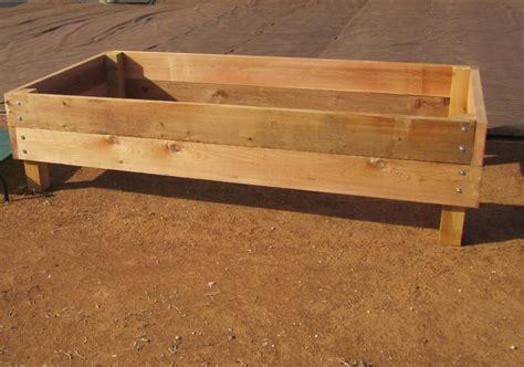 raised garden bed plans on legs pdf woodworking