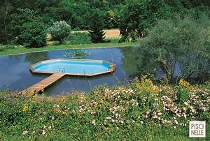 Piscine Semi Enterré Bois : piscine hors sol semi enterree meilleures images d ~ Premium-room.com Idées de Décoration