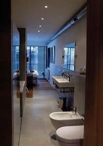 deco salle de bain en longueur With salle de bains en longueur