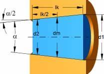 Kegel Höhe Berechnen : berechnung einer kegelpressverbindung mit berechnungsprogramm ~ Themetempest.com Abrechnung