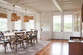 Dining Room Rug Design Beach Style Dining Room By Allee Architecture Design Llc