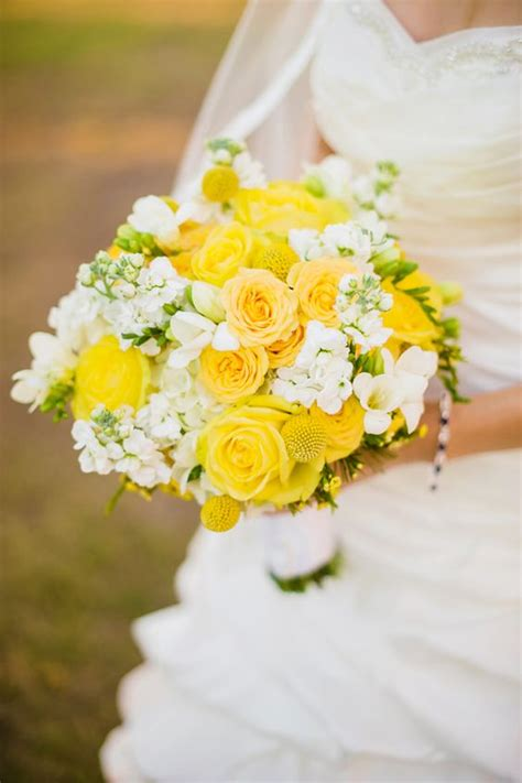 wedding yellow flowers bouquets flower bridal bouquet arrangements superhero angel he artistry designs grey tampa bay wednesday roses weddings visit