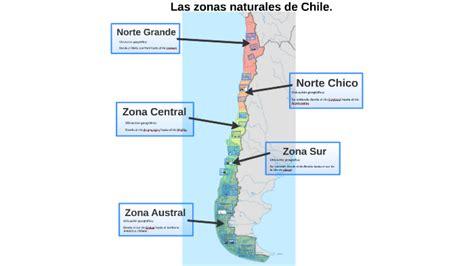 Las zonas naturales de Chile 5to by Daniela Martínez