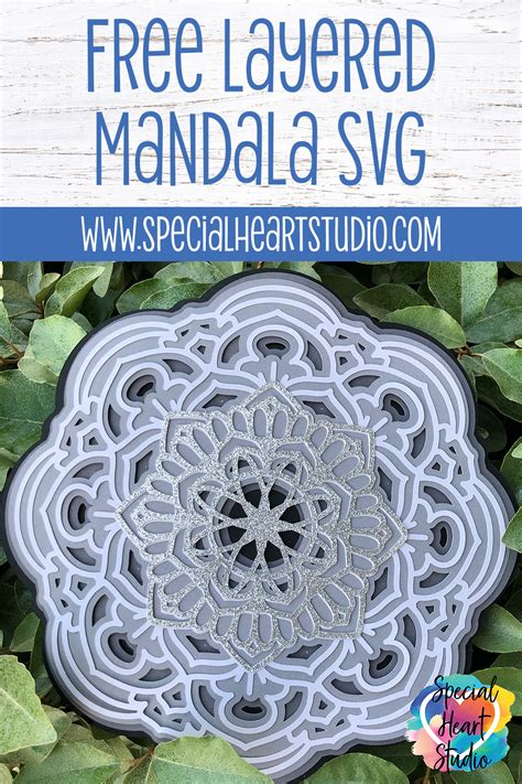 Layered mandalas are all the rage. Pin on SVG FILES
