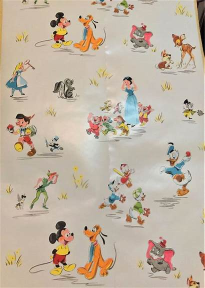 Disney Paper 1950s Wallpapers Roll Snow Iphone
