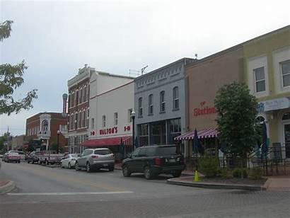 Bentonville Arkansas Downtown There Walmart Museum Ar