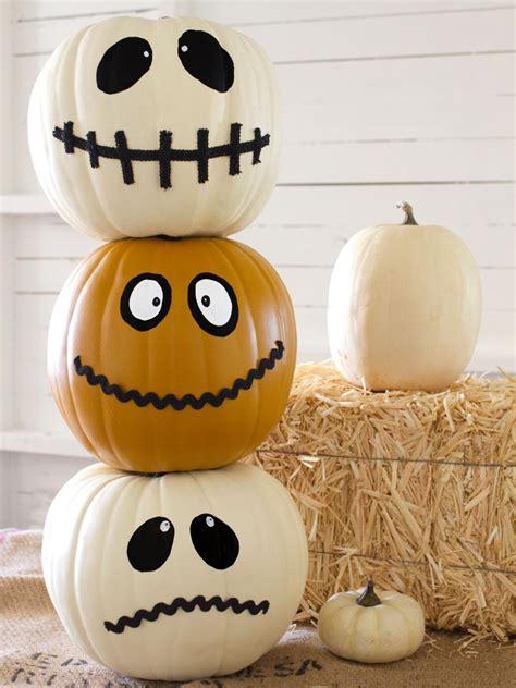 35 Halloween Pumpkin Ideas  Carved, Painted, Designs