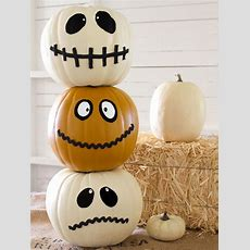 35 Halloween Pumpkin Ideas  Carved, Painted, Designs