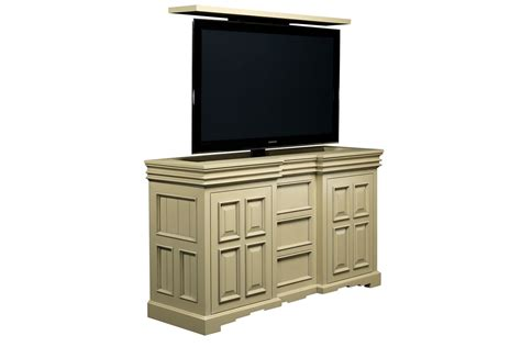 tv lift cabinets cordova pop up tv lift cabinet cabinet tronix