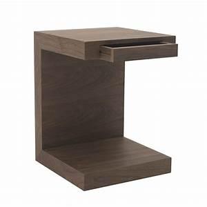 Table De Chevet Wengé : table de chevet design ~ Teatrodelosmanantiales.com Idées de Décoration