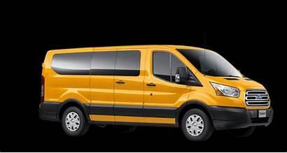 Ford Transit 4k Road Animated Test Vans