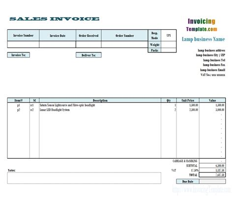 invoice template  uk  results