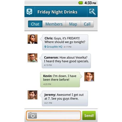 groupme for android groupme offers easy messaging and is cross platform