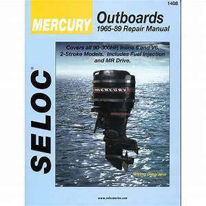 Seloc Service Manual Mercury Outboards 6 Cyl 1965