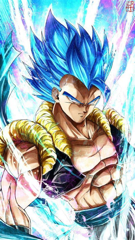 gogeta super saiyajin blue anime dragon ball super