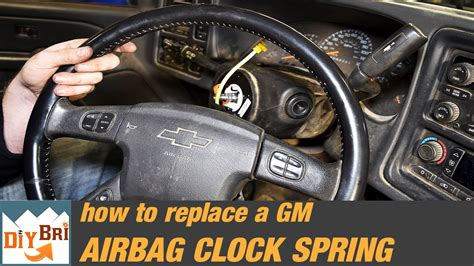 how to replace a clock remove steering wheel silverado