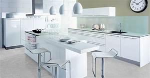Modele De Cuisine Cuisinella : la cuisine blanche par cuisinella ~ Premium-room.com Idées de Décoration
