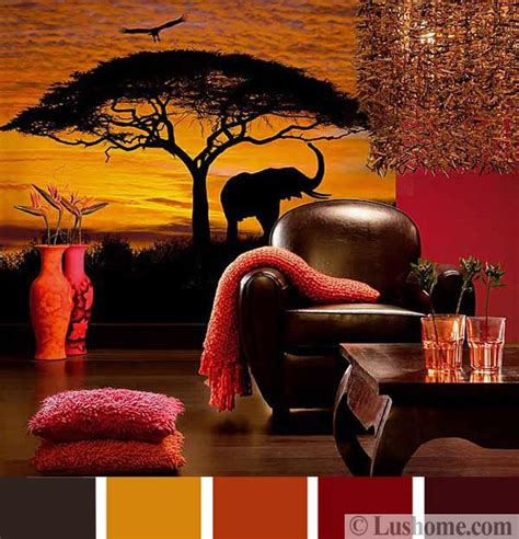 color combinations for home interior stylish orange color schemes for vibrant fall decorating