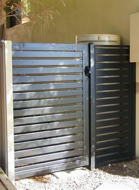 aluminum fence ideas  pinterest steel fence