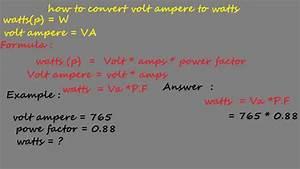 Watt Volt Ampere : how to convert volt ampere to watts electrical formulas ~ A.2002-acura-tl-radio.info Haus und Dekorationen