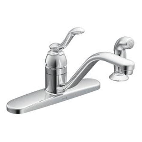 MOEN Banbury Single Handle Standard Kitchen Faucet with
