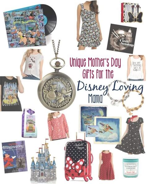 gifts for disney fans unique mother 39 s day gifts for the disney fan the