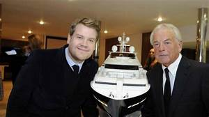 New Sunseeker 75 Yacht unveiled by James Corden at 2014 ...
