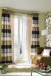 Gardinen Vorhänge Ideen : gardinen ideen wohnzimmer ~ Sanjose-hotels-ca.com Haus und Dekorationen
