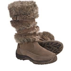 Faux Fur Winter Boots Women