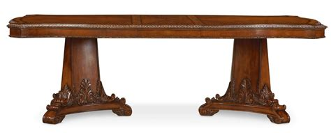 world dining tables world pedestal dining table 3661