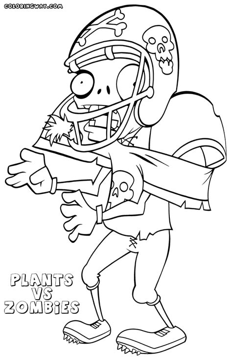 plants  zombies coloring pages coloring pages